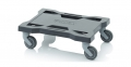 Hand trolley for tool boxes 40 x 30 cm